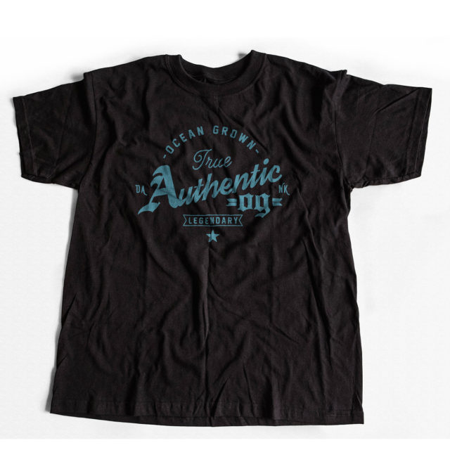Authentic OG   Discreet Cannabis T Shirt