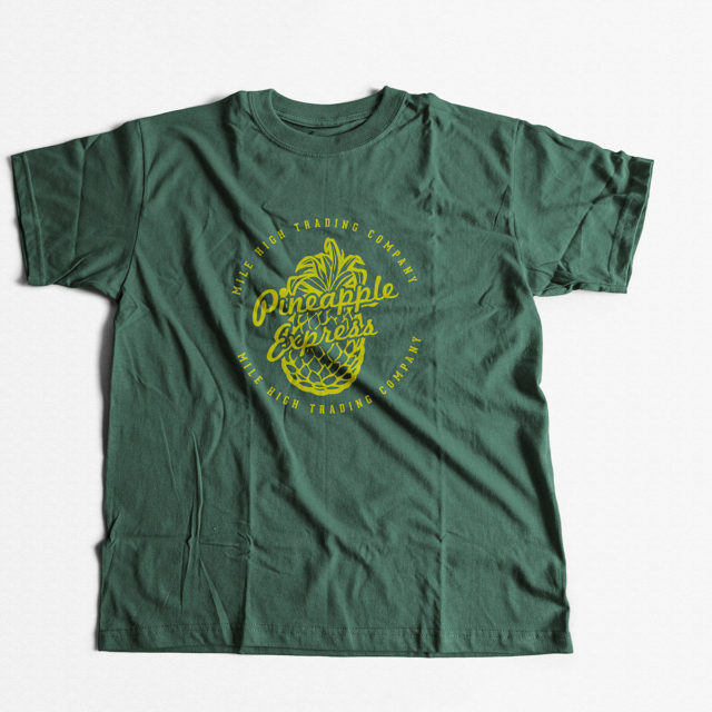 Pineapple Express Cannabis Strain T Shirt | Fire Strains, Classic Designs