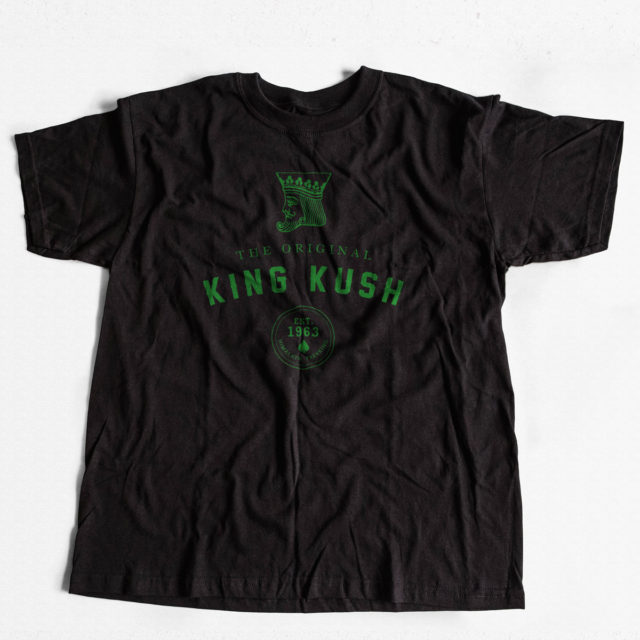 King Kush Discreet Cannabis T Shirt