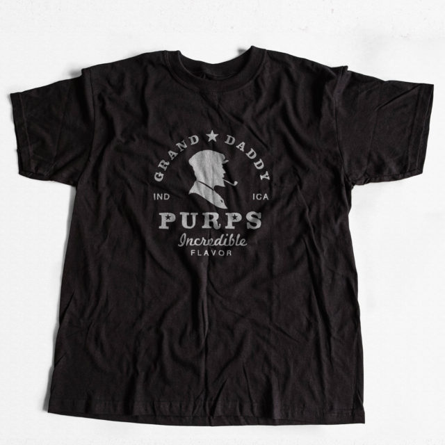 Granddaddy Purps Discreet Cannabis T Shirt