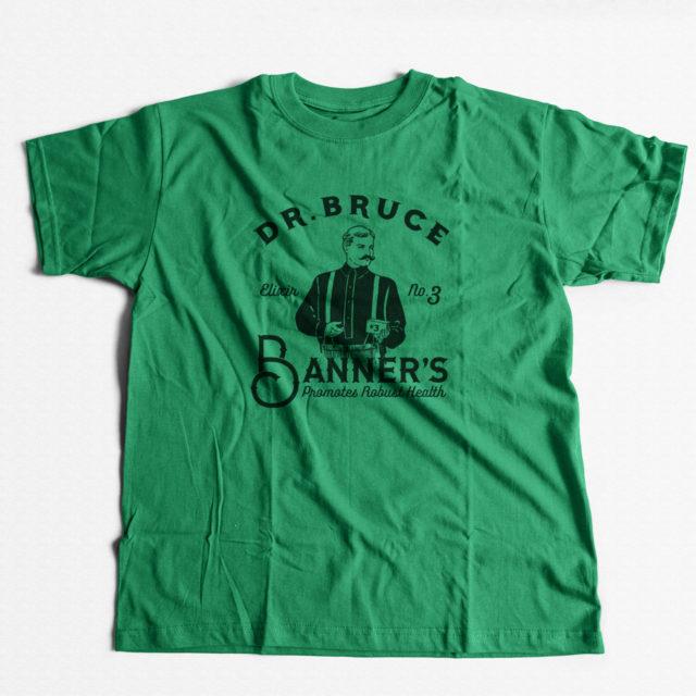 Bruce Banner Strain Discreet Cannabis T Shirt | Fire Strains, Classic Designs