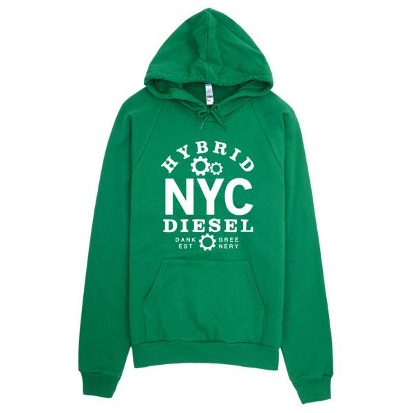 NYC Diesel Discreet Cannabis Strain Hoodie