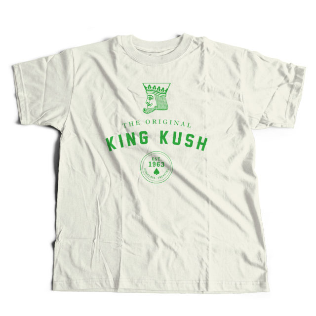 King Kush Discreet Cannabis Strain T Shirt | Fire Strains, Classic Designs
