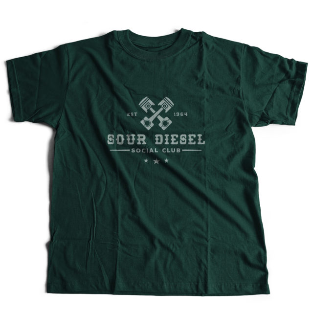 Sour Diesel Discreet Cannabis Strain T Shirt | Fire Strains, Classic Designs