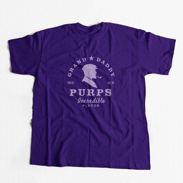 Granddaddy Purps Discreet Cannabis Strain T Shirt | Fire Strains, Classic Designs