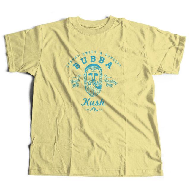 Bubba Kush Discreet Cannabis Strain T Shirt
