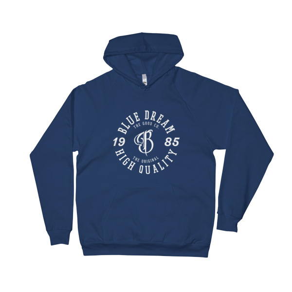 Blue Dream California Fleece Pullover Hoodie